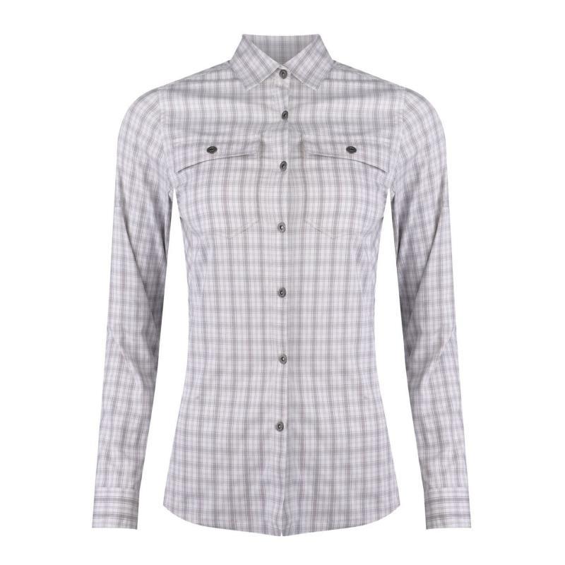 Košile Eastern Mountain Sports Journey Plaid Long Sleeve Shirt Ladies Vintage Violet