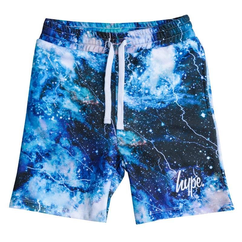 Kraťasy Hype Junior Boys Space Shorts Blue