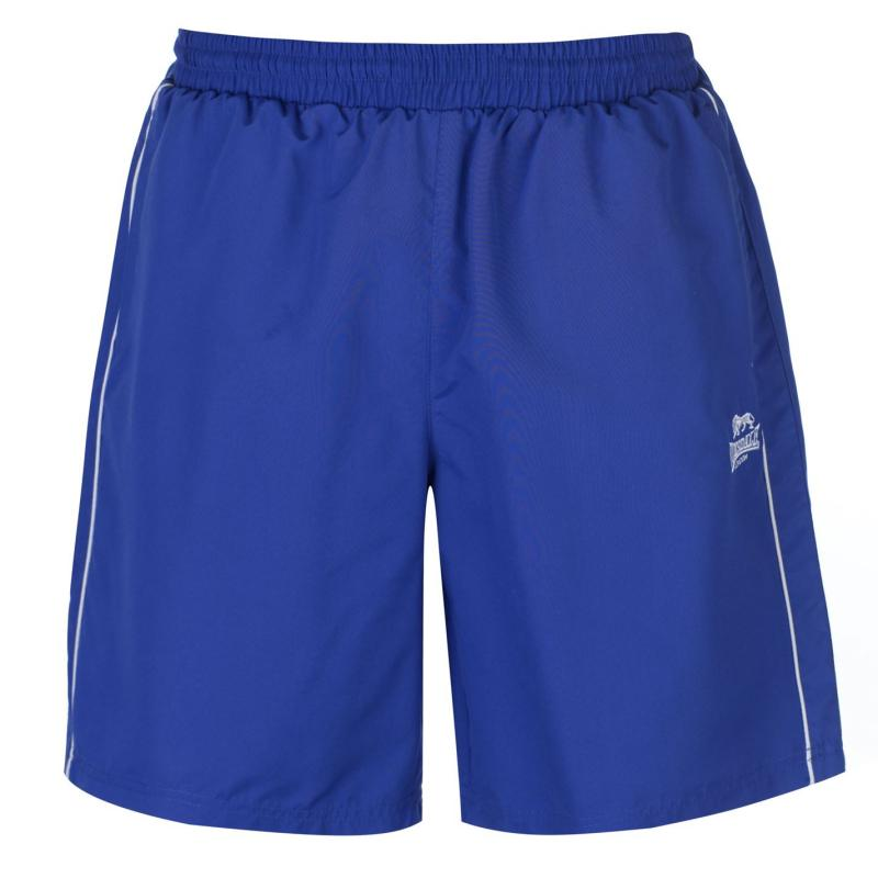 Lonsdale Pocketed Woven Shorts Mens Royal blue
