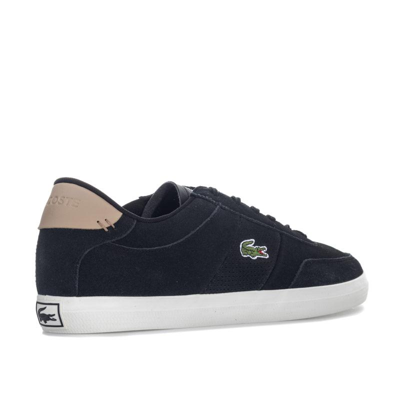 Lacoste Mens Court-Master 418 2 CAM Trainers Black