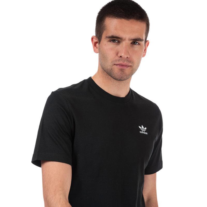 Tričko Adidas Originals Mens Essential Logo T-Shirt Black