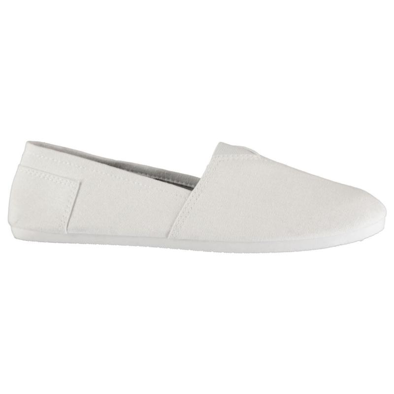 Boty Slazenger Canvas Sams Pumps Mens White