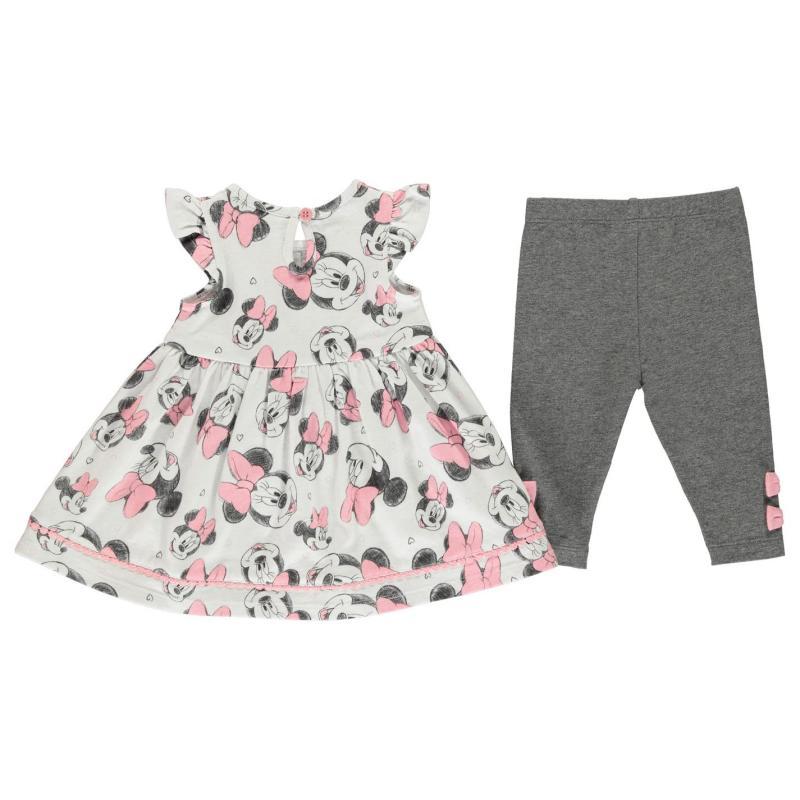 Šaty Character 3 Piece Dress Set Baby Girls Minnie Mouse 2