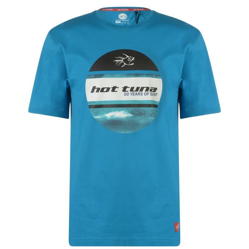 Tričko Hot Tuna Crew T Shirt Mens Black Perth
