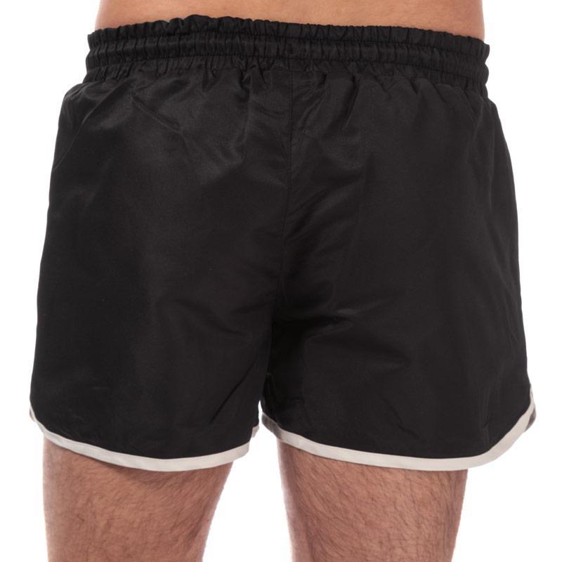 Crosshatch Mens Barli Shorts Black
