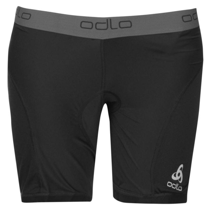 Odlo Womens Cycling Wind Under Shorts Black