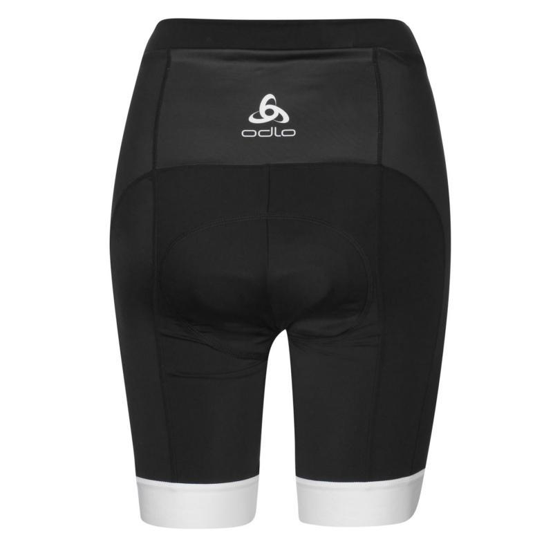 Odlo Womens Padding Cycle Short Black
