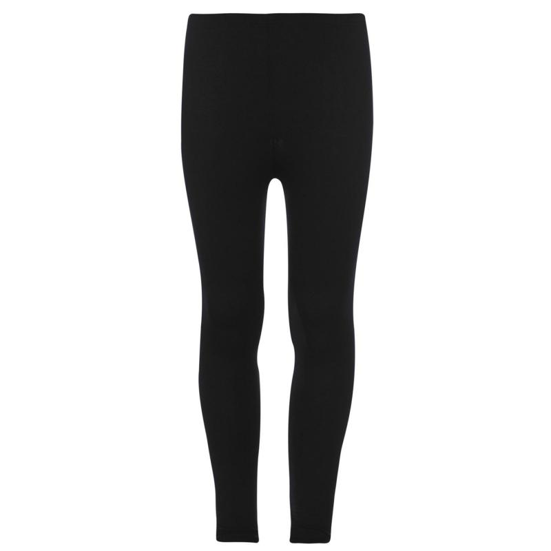 Crafted Classic Leggings Junior Girls Black