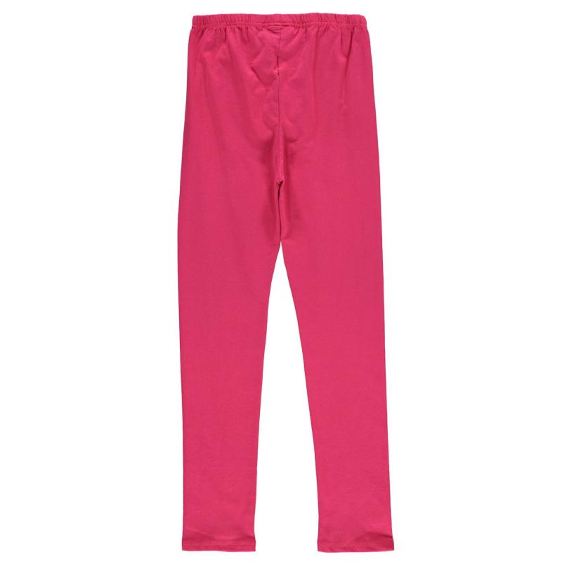 Crafted Classic Leggings Junior Girls Pink