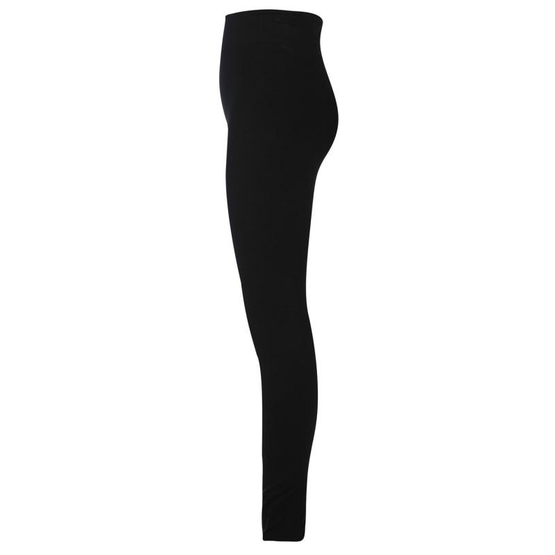 Crafted High Waisted Leggings Girls Black