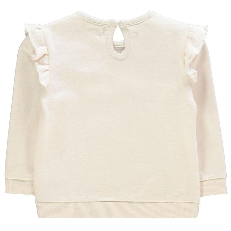 Crafted Mini 2 Piece Frill Set Infant Girls Cream Velikost - 6-9 měsíců