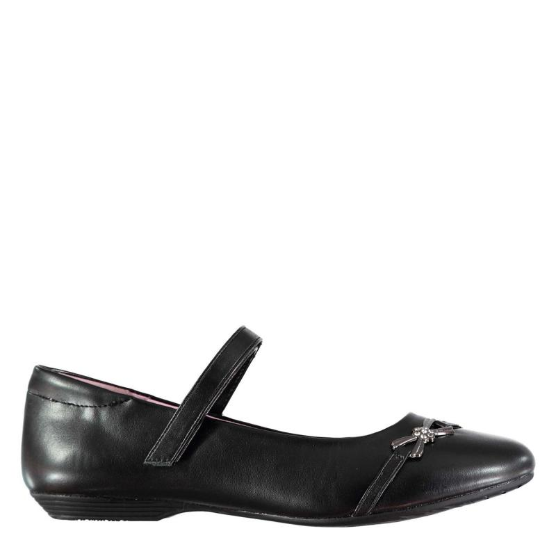 Miss Fiori Louisa Girls Shoes Children Black