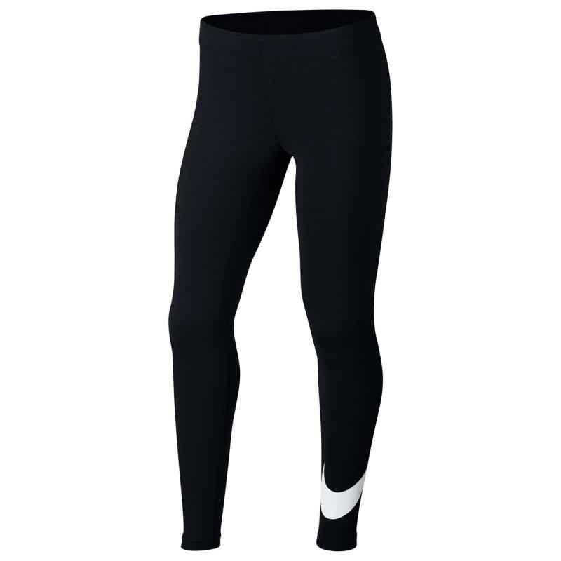 Nike Swoosh Tights Junior Girls Black