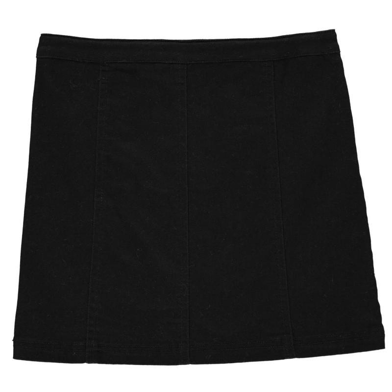Firetrap Denim Mini Skirt Junior Girls Smoke