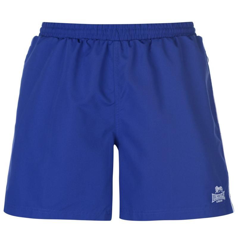 Plavky Lonsdale Swim Shorts Mens Active Blue