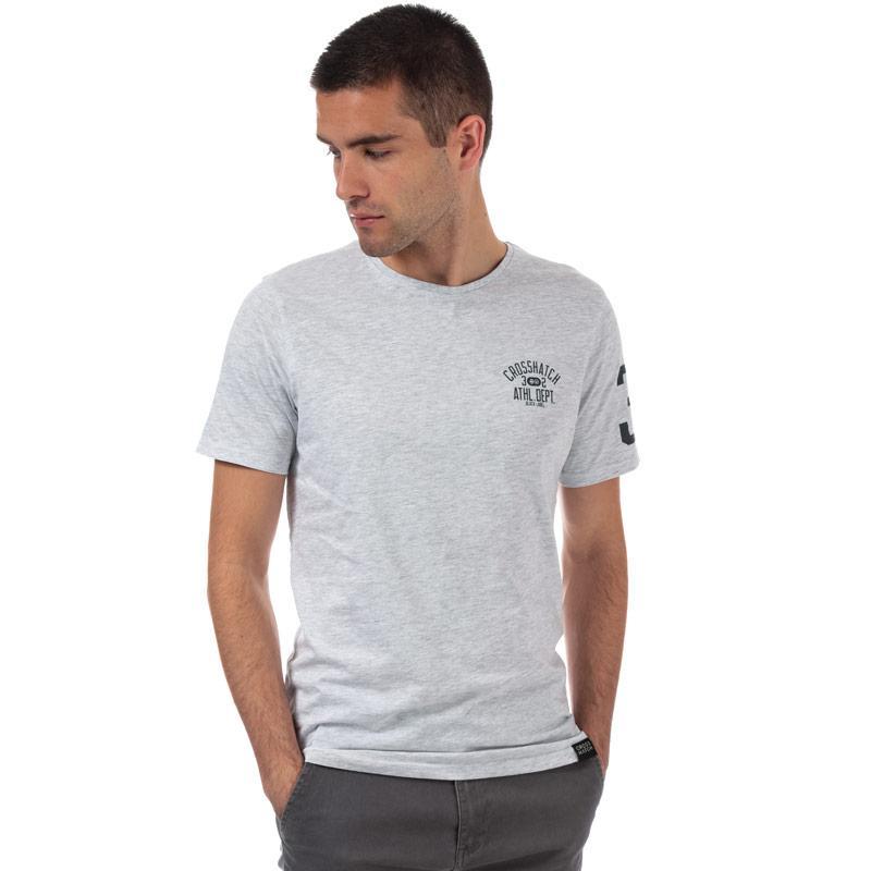 Tričko Crosshatch Black Label Mens Oplemon T-Shirt Lemon