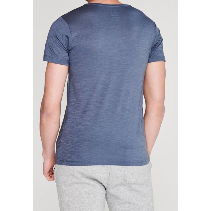 Millet Wool Blend T Shirt Flint