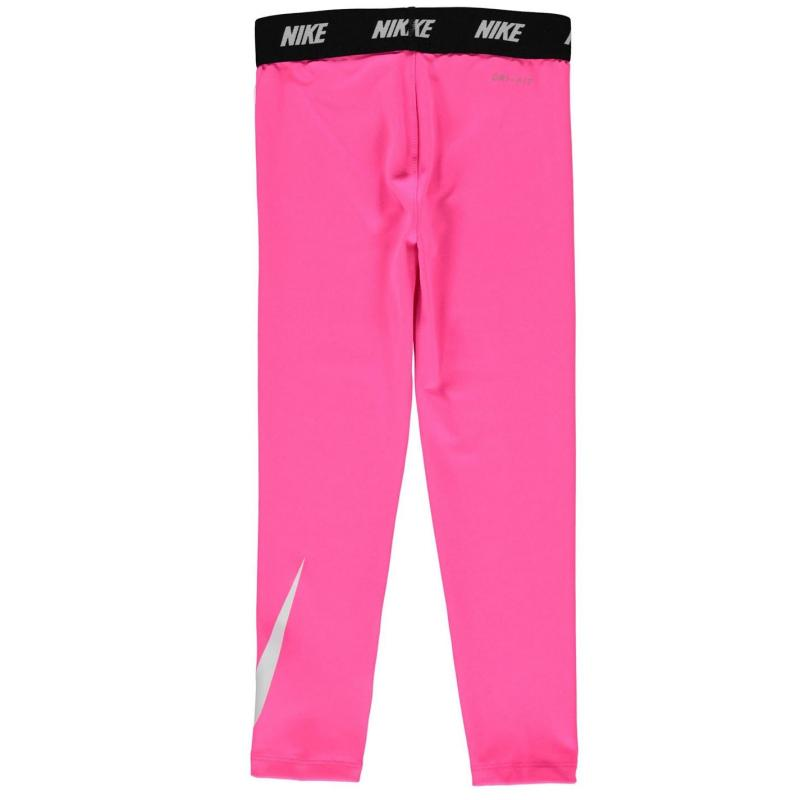 Nike Swoosh Leggings Infant Girls Pink
