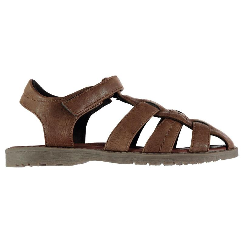 Boty SoulCal Fisherman Infant Boys Sandals Brown