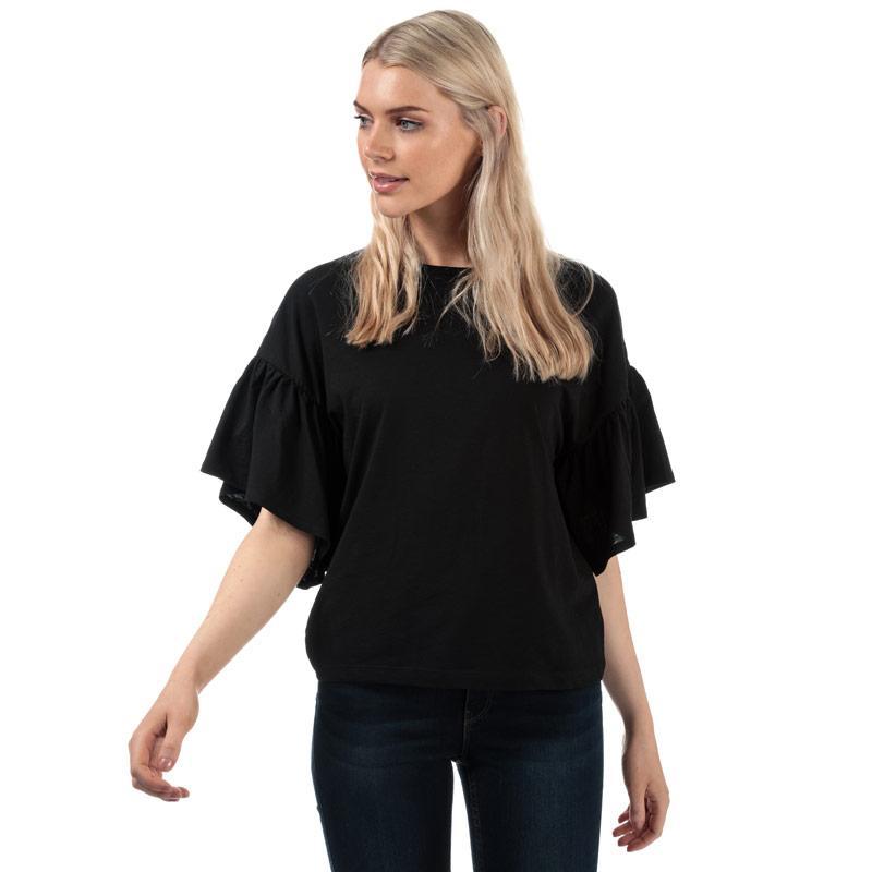 Vero Moda Womens Rebecca Jersey Top Black