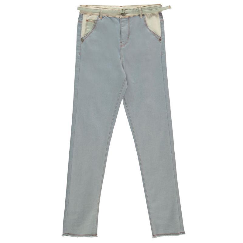Firetrap Skinny Jeans Junior Girls Smoke CB
