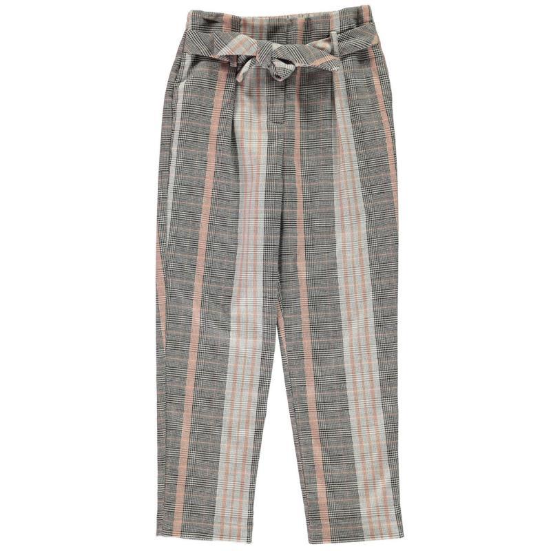 Firetrap Tapered Trousers Junior Girls Jet Stripe