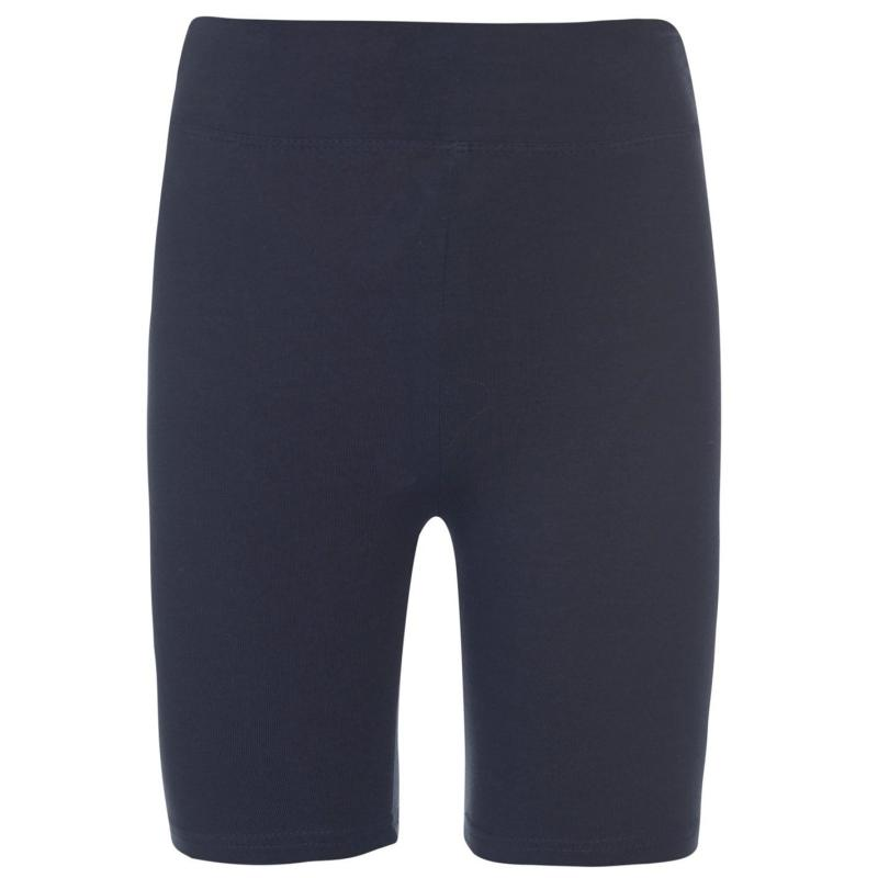 Crafted Cycling Shorts Junior Girls Navy
