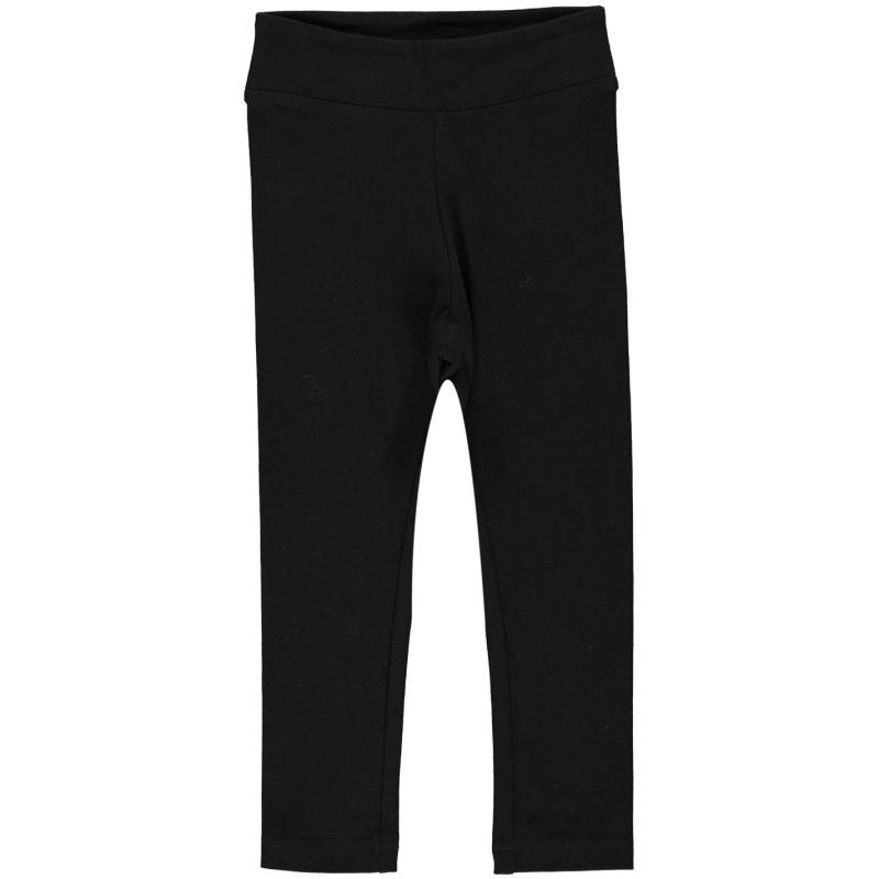 Crafted High Waisted Leggings Infant Girls Black