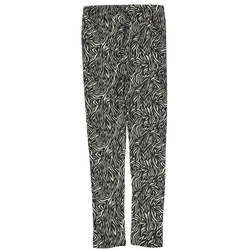 Crafted Luxury Leggings Girls Mono Tropical