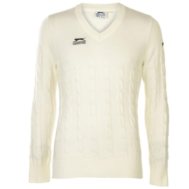 Slazenger Classic Sweatshirt Mens White