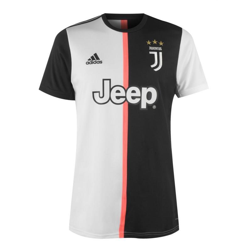 Adidas Juventus Home Shirt 2019 2020 Black/White