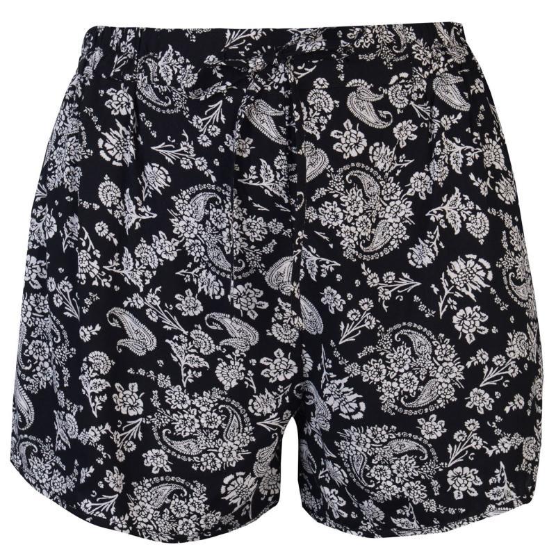 Šaty Golddigga Print Shorts Ladies Black