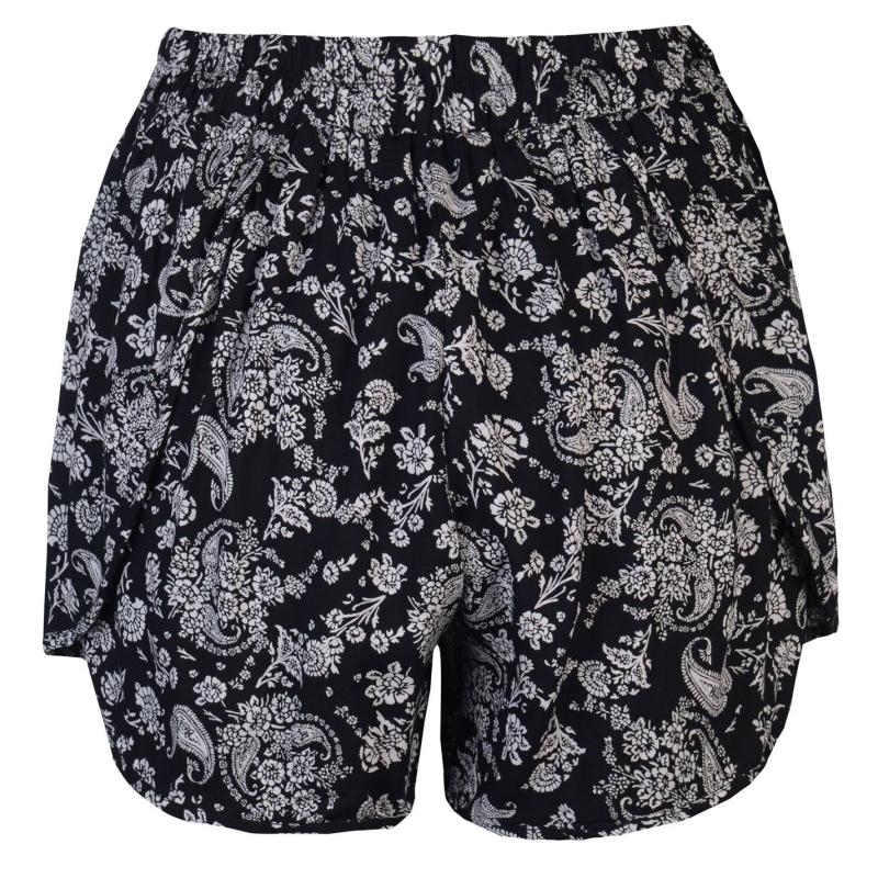 Šaty Golddigga Print Shorts Ladies Black