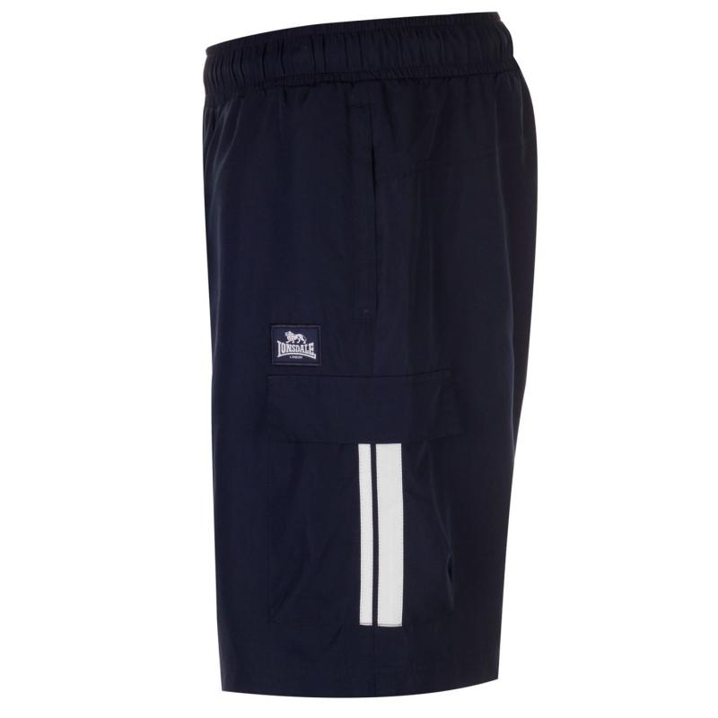 Lonsdale Cargo Shorts Mens Navy