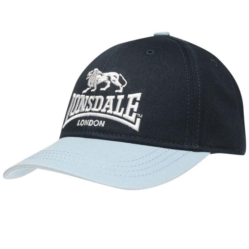 Lonsdale TT Cap Junior Navy/Blue