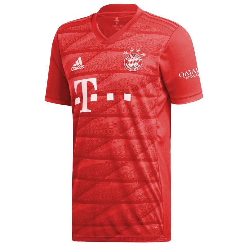 Adidas Bayern Munich Home Shirt 2019 2020 Red
