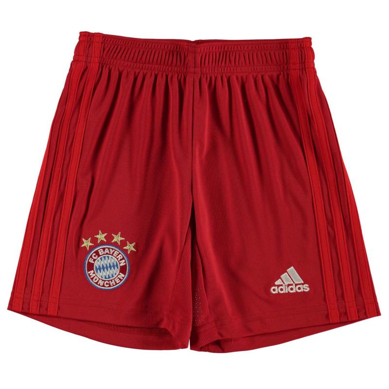 Adidas Bayern Munich Home Shorts 2019 2020 Junior Red