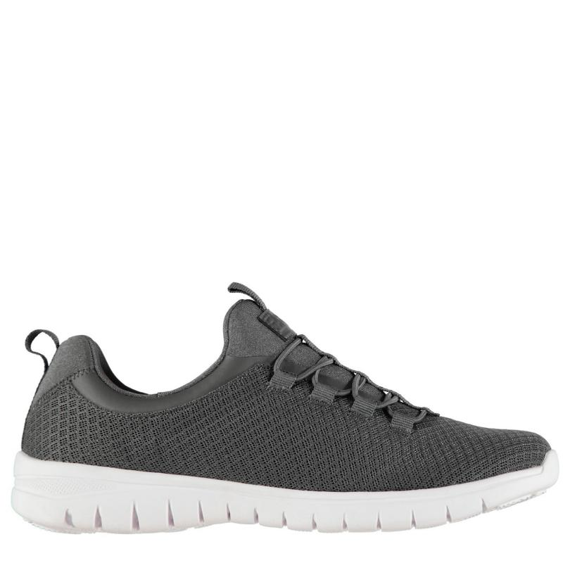 Fabric Relap Ladies Trainers Grey