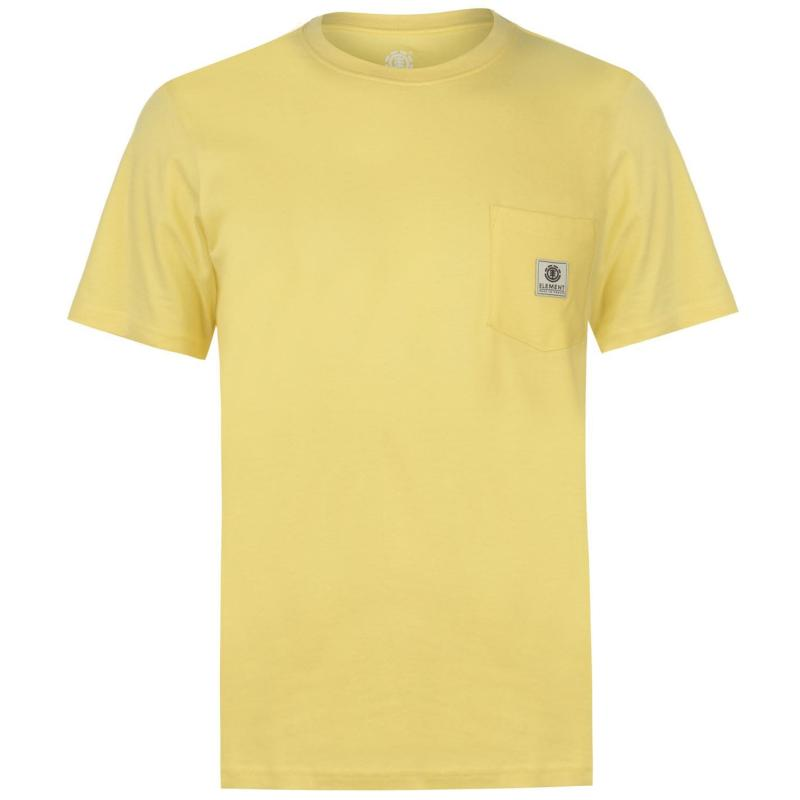 Tričko Element Element Pocket T Shirt Mens Popcorn