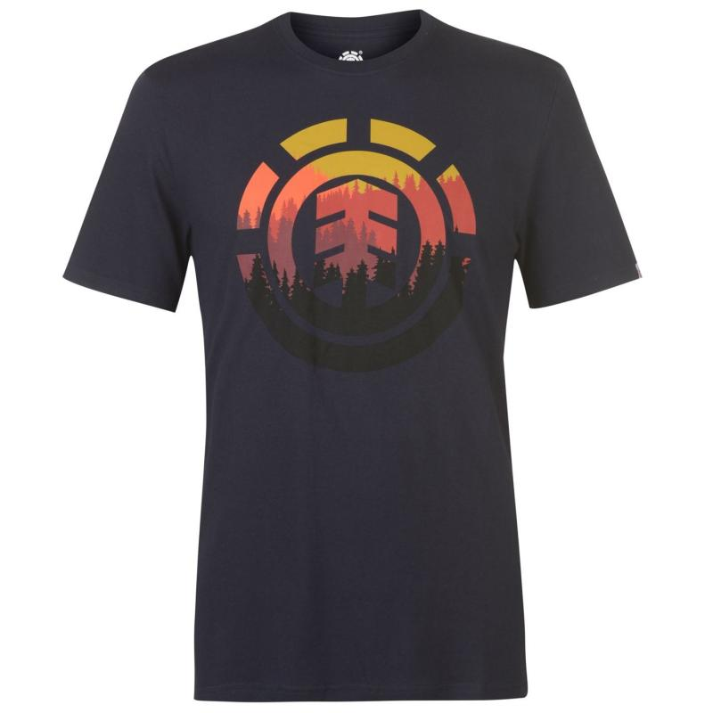 Tričko Element Glimpse T Shirt Mens Eclipse Navy