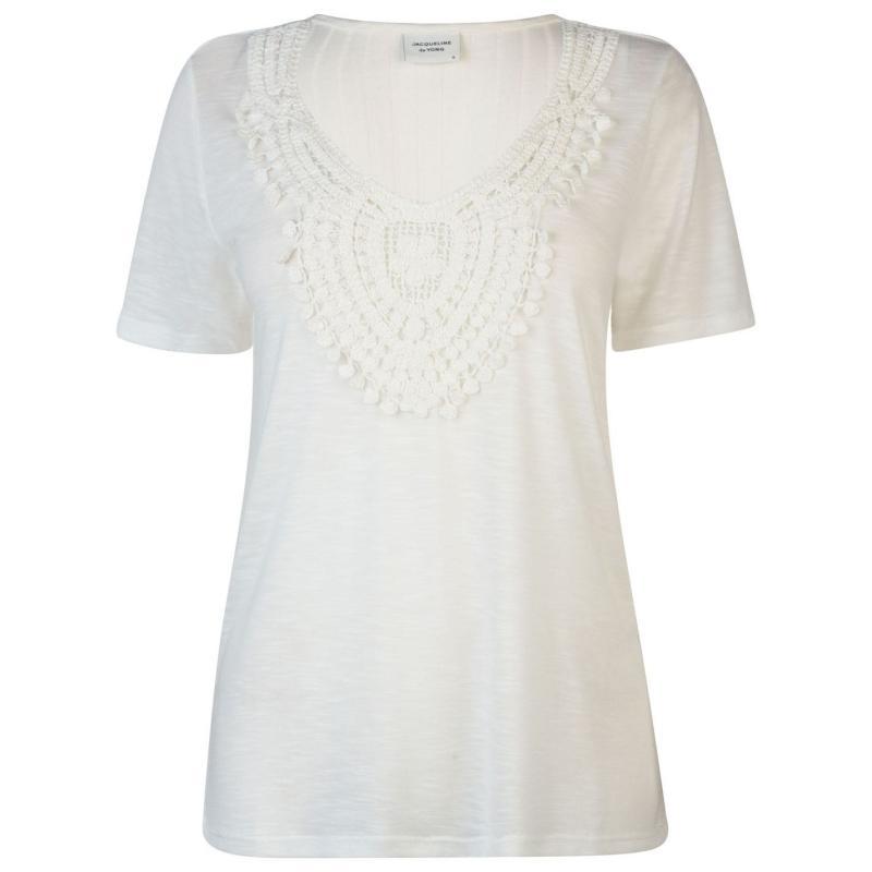 Tričko JDY Short Sleeved T Shirt Cloud Dancer