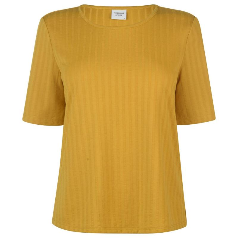 Tričko JDY Short Sleeved T Shirt Tawny Olive