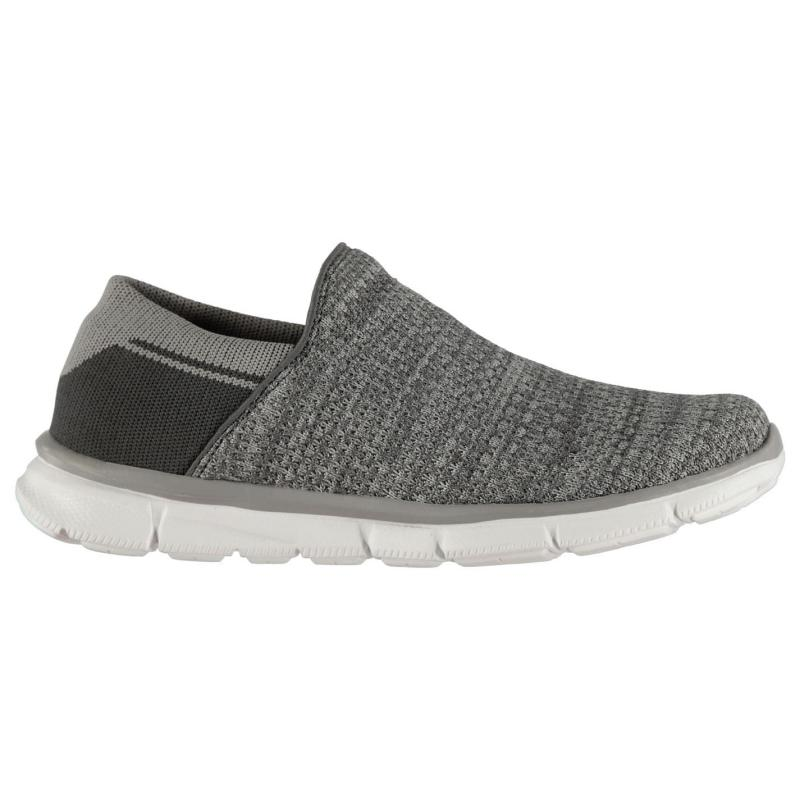 Slazenger Zeal Knit Ladies Trainers Grey