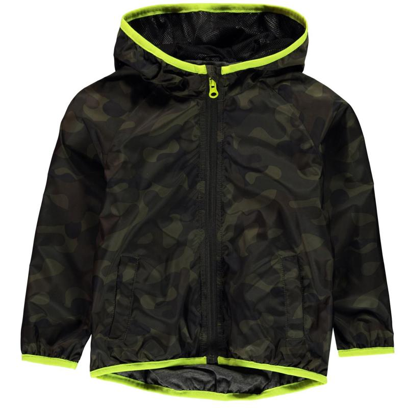 Bunda Crafted Essentials Rain Jacket Infant Boys Camouflage