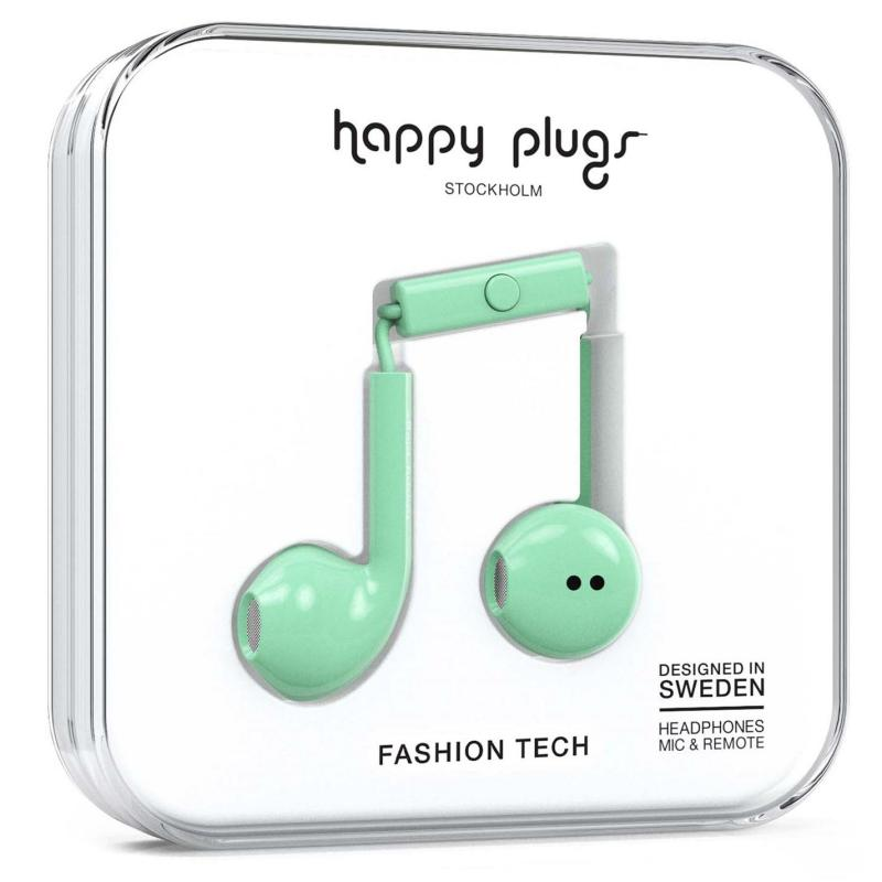 Happy Plugs Earbud Plus Mint