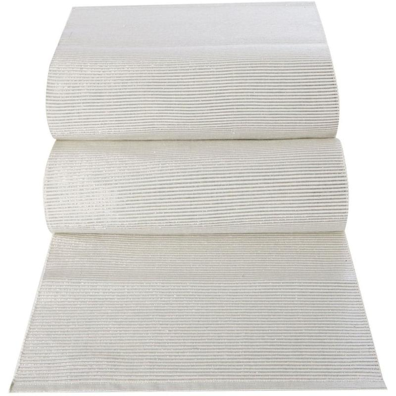 Linea Ribbed Canterbury Runner Ivory