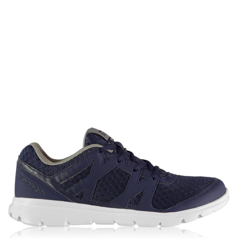 Slazenger Pace Trainers Mens Navy/White