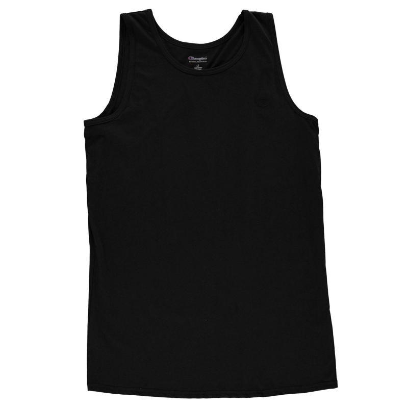 Tílko Champion Mens Ringer Vest Black