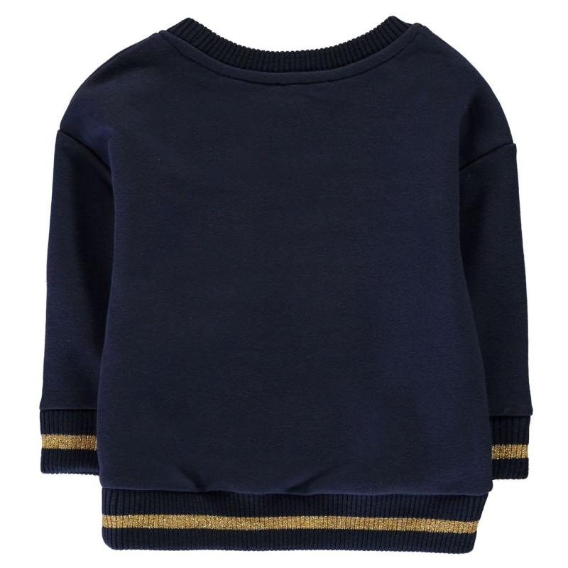 Rose and Wilde R and W Flrl CrwNck CH84 Navy