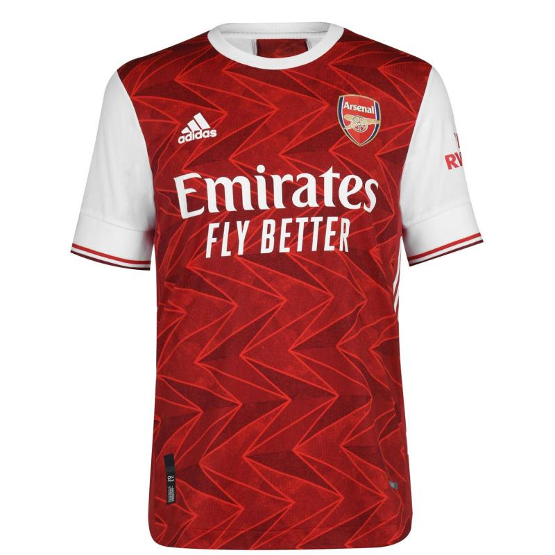 Adidas Arsenal Authentic Home Shirt 2020 2021 Red
